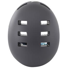 bluegrass Super Bold Dirt-Helmet matt gray/cyan